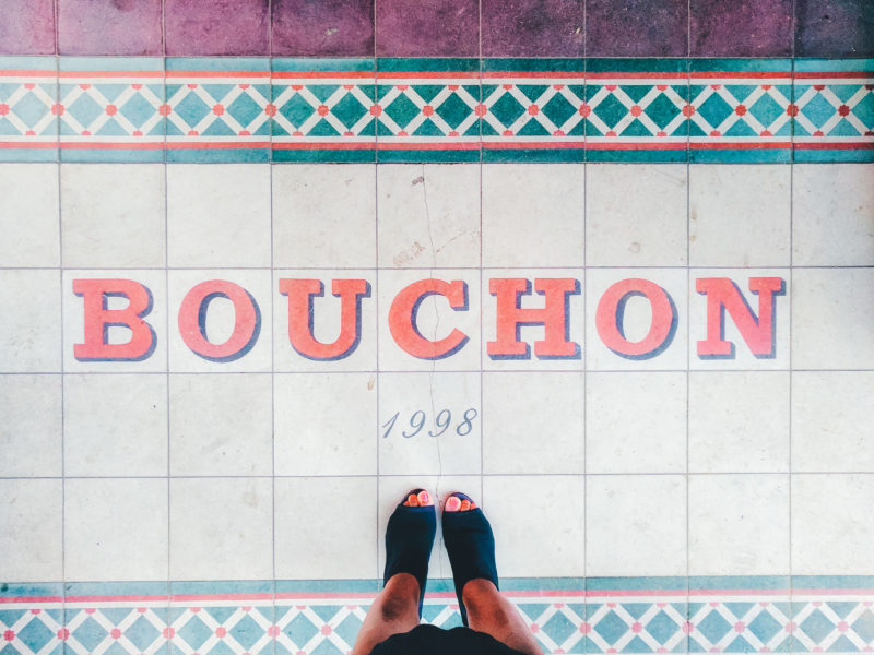 Stepping into the Michelin-starred Bouchon with cocktails on the brain.