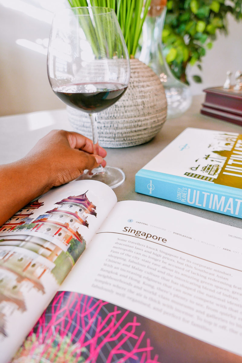 Travel Books & Wine